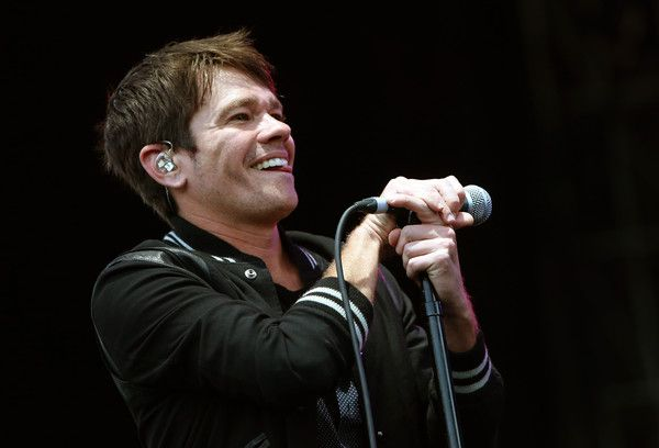 Nate Ruess Photos Photos - Nate Ruess performs onstage during day three of the Boston Calling Music Festival at Boston City Hall Plaza on September 27, 2015 in Boston, Massachusetts. - 2015 Boston Calling Music Festival