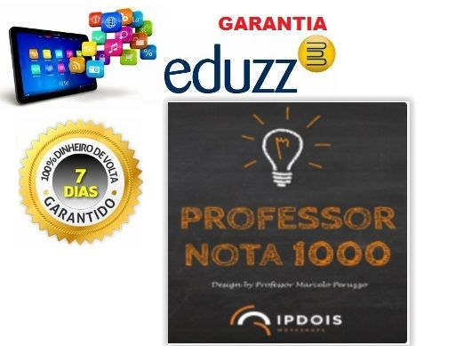 Curso Professor Nota 1000 Desenvolvimento Pessoal e estratégico para melhor abordagem em sala de aula.