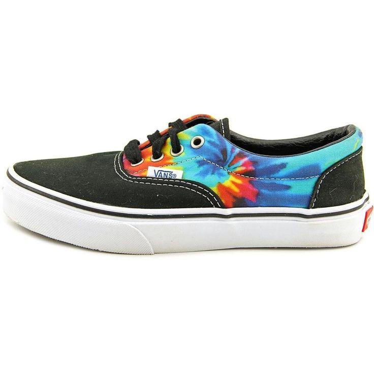 Vans Kids Era Lace Up TieDye Sneakers-Black/Tie Dye | eBay