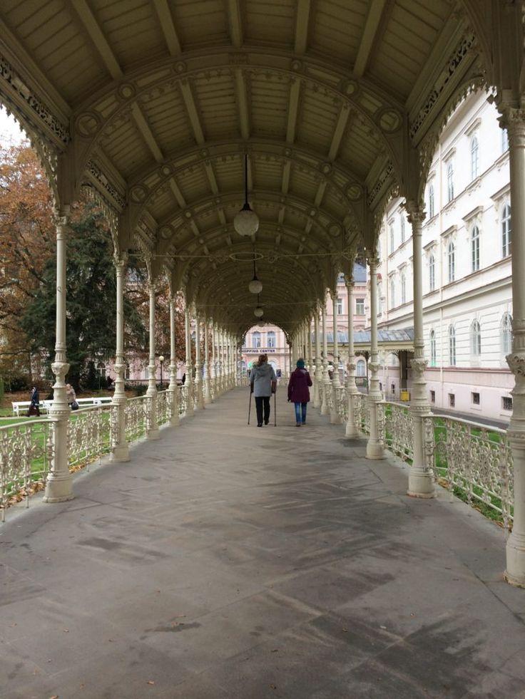 Karlovy Vary the town of spas