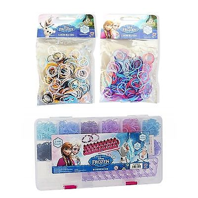 Official #disney frozen loom band case #rubber bands bracelet #making diy kit new,  View more on the LINK: 	http://www.zeppy.io/product/gb/2/301302199914/