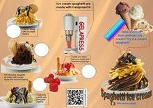 How to make spaghetti ice cream, spaghetti ice cream by hand or with the machine