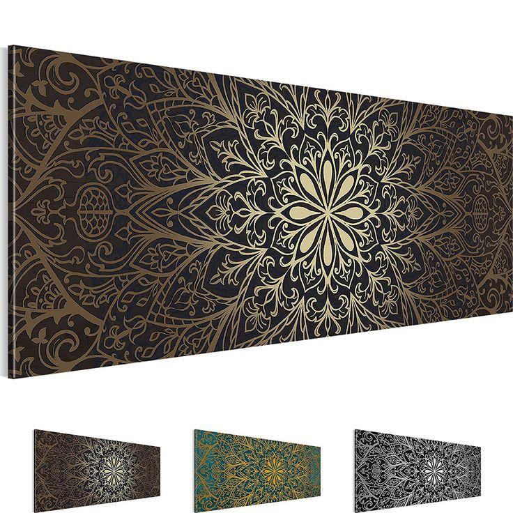 Bilder – Wandbild - Vlies Leinwand - 100 x 40 cm - Abstrakt Bild - Kunstdrucke – mehrere Farben und Größen im Shop - Fertig Aufgespannt - Mandala – Orient 107412ad: Amazon.de: Baumarkt http://amzn.to/2r2V0xl