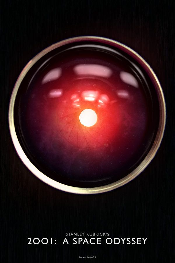 2001: A Space Odyssey - movie poster - AndrewSS7.deviantart.com