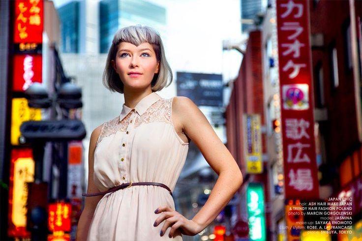 Japan Chic trendy hair fashion