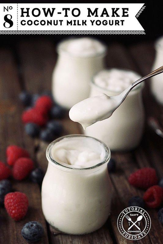 DIY Coconut Milk Yogurt (Vegan!)