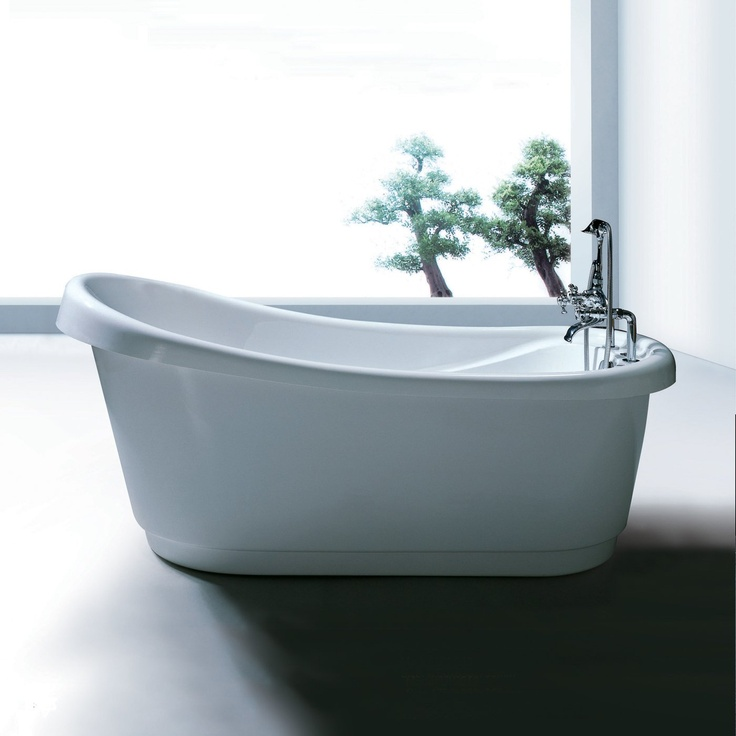 8 best Bathtubs images on Pinterest | Slipper, Bathroom ideas and ...