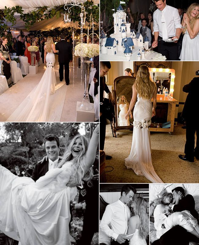 Fergie and Josh Duhamel #Celebrity #Wedding