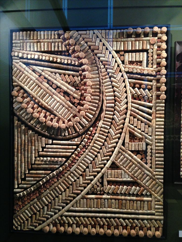 Wine Cork art... Trying to collect enough corks to do something like this!