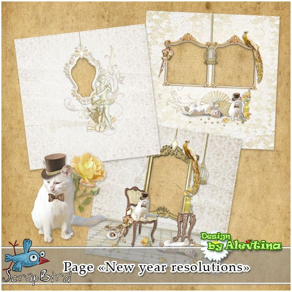 New Year Resolution Quickpages (PU/S4H) by Alevtina