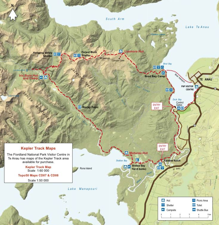 kepler track new zealand #newzealandwalkingtours #newzealandwalkingtracks http://newzealandwalkingtours.com