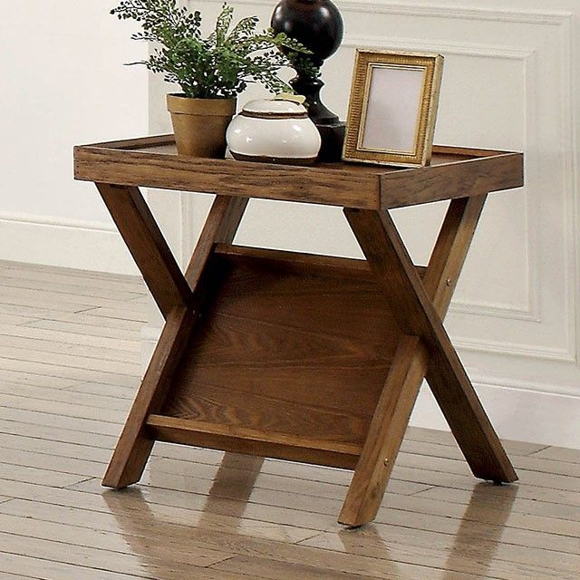 Caitlan By Furniture Of America Cm4177e End Table End Tables