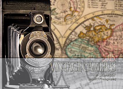 senARTPhotography: 2015 Vintage Camera Calendar