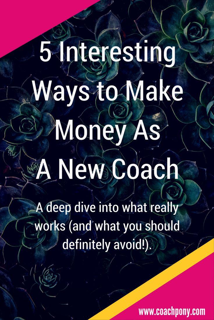 how to make money life coach