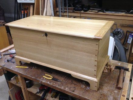 Blanket Chest - by TheBronzeoakleaf @ LumberJocks.com ~ woodworking community