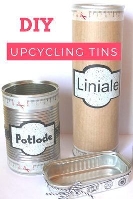 ECCENTRIC ECLECTIC STUDIO: DIY UPCYCLING TINS