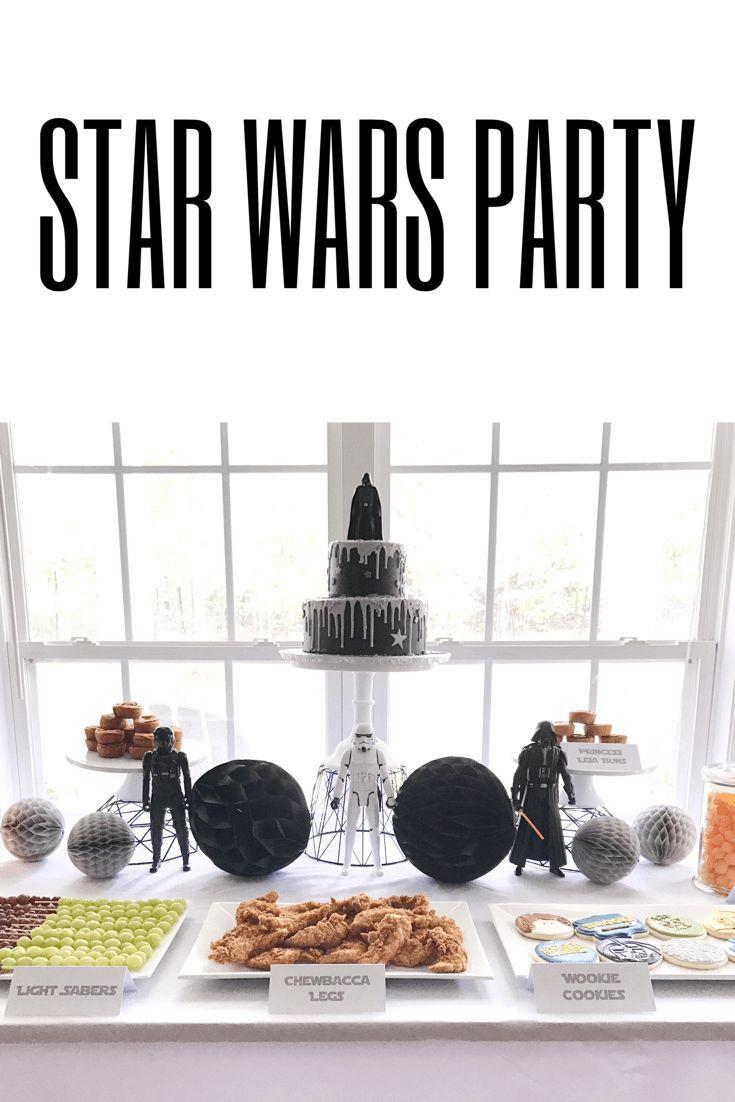 Star Wars Boy Birthday Party! Birthday party idea for boys