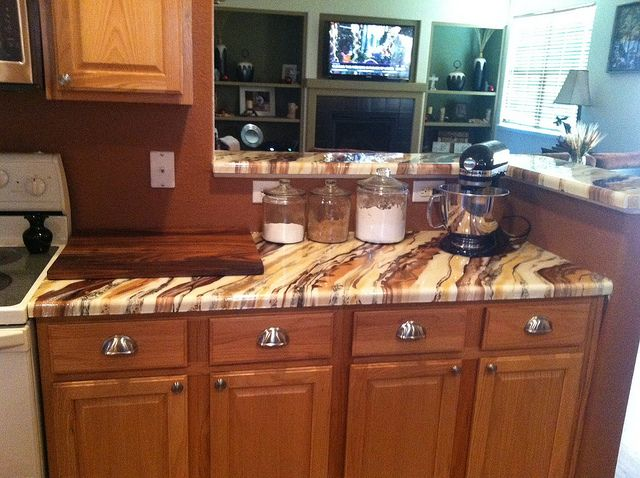91 Best DIY Epoxy Kitchens, Countertops, And Table