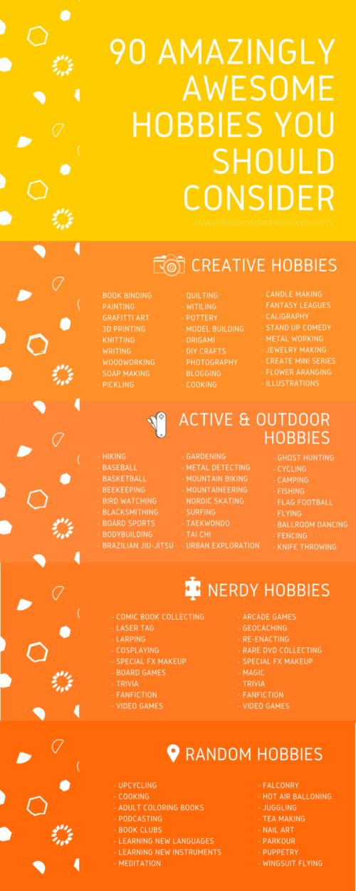 cool hobbies to try