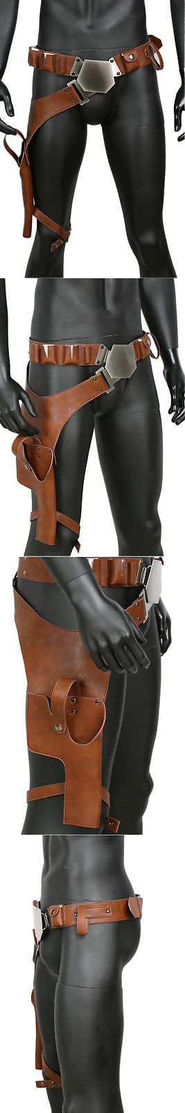 Other Costume Accessories 82161: Xcoser Updated Han Solo Belt Buckle Gun Holster Star Wars Cosplay Props Belt -> BUY IT NOW ONLY: $54 on eBay!