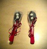 Hot Chocolate Spoons. Just add hot milk. Great homemade gift. Visit http://www.facebook.com/KittyAndTiz to find out how to buy