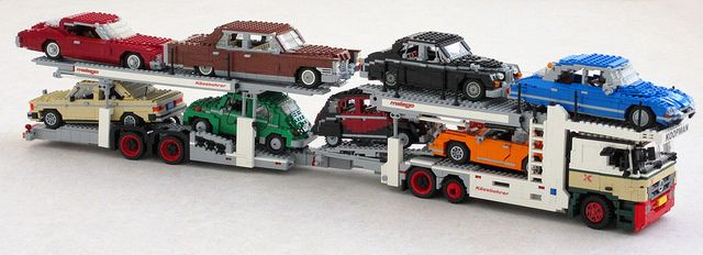 Mercedes Actros Car Transporter By Mad Physicist Via