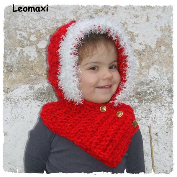 Top Häkelanleitung - Santa Hoodie. Die Kleinen lieben es sich zu verkleiden und der Weihnachtsmann ist im Moment besonders interessant. http://www.crazypatterns.net/de/items/509/e-book-haekelanleitung-santa-hoodie