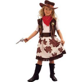 Vestito da cowgirl http://www.regaliperbambini.org/abbigliamento/costumi-carnevale/vestito-da-cowgirl