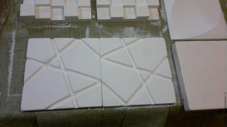 """Купить """"Направление"""" декоративная гипсовая плитка - комбинированный, гипс, вода, натуральные материалы, дизайн"""