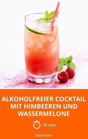 Alkoholfreier Cocktail mit Himbeeren und Wassermelone - smarter - Zeit: 15 Min.   eatsmarter.de