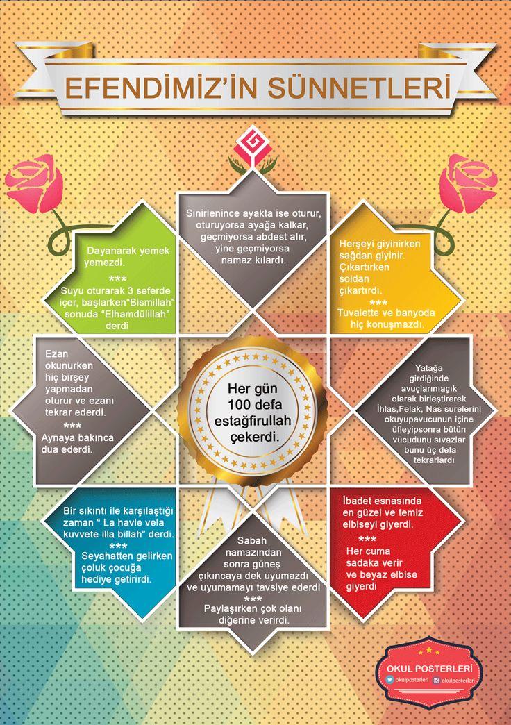 Din Kültürü ve Ahlak Bilgisi Eğitim Posteri