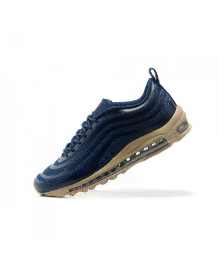 Authentic Nike Air Max 97 Hyp Darkblue Beige Womens Trainers  cd25d0e789