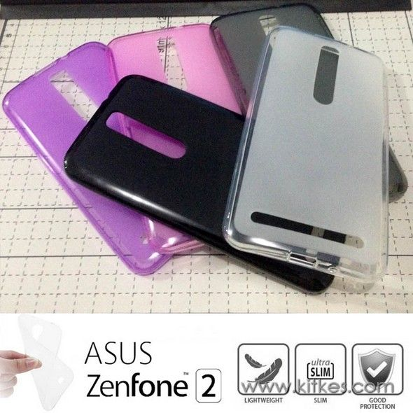 Matte TPU Soft Case Asus Zenfone 2 - Rp 50.000