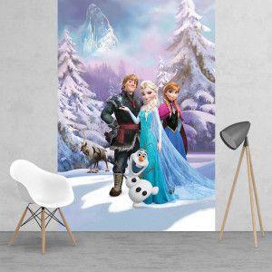 Frozen Wallpaper Mural