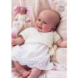 Ballet Wrap in Sirdar Snuggly Baby Cotton DK (4425) £2.99