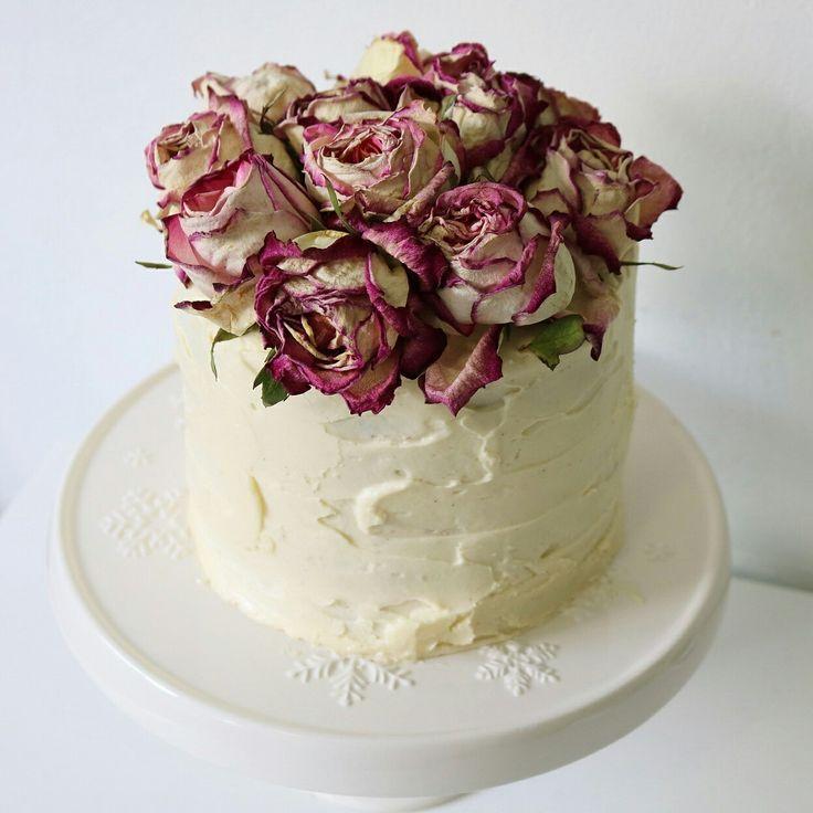 Chocolate cake with ermine buttercream