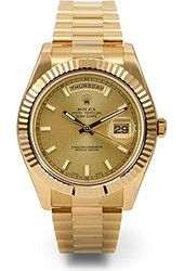 Amazon.com: Rolex Day-Date Automatic Champagne Dial 18kt Yellow Gold Mens Watch 118238CDP: Watches
