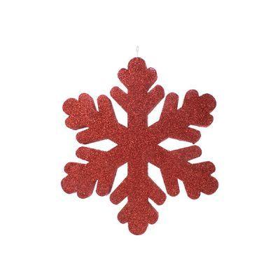 - Kırmızı Kar Tanesi 27 cm