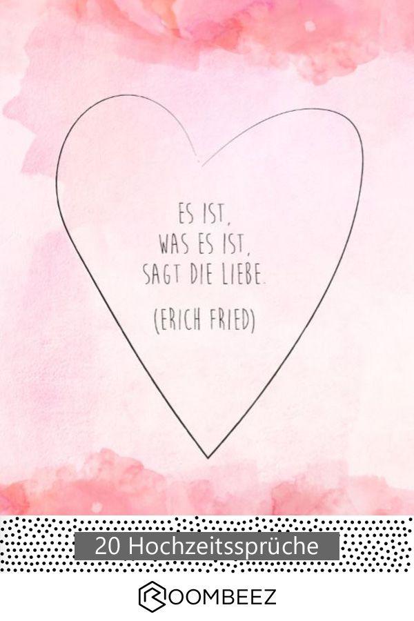 Hochzeitssprüche ♥ 20 kostenlose Sprüche downloaden und teilen ...