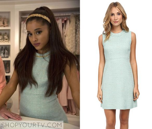Scream Queens: Season 1 Episode 1 Chanel #2's Green Tweed Dress