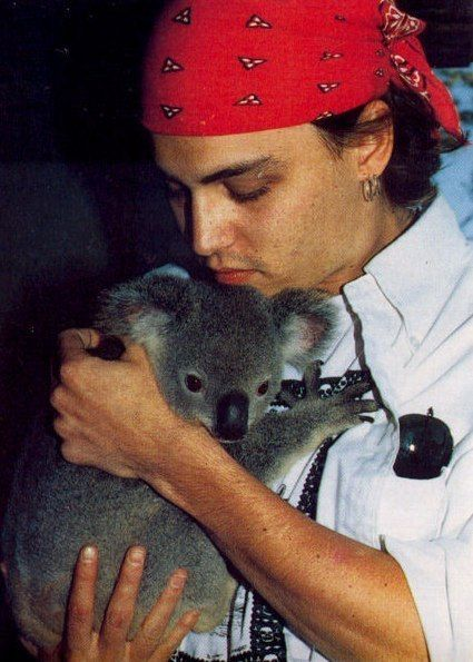 johnny depp, the quala.... hmmm whats cuter.... animal wins! wait. that doesnt change anything. :D