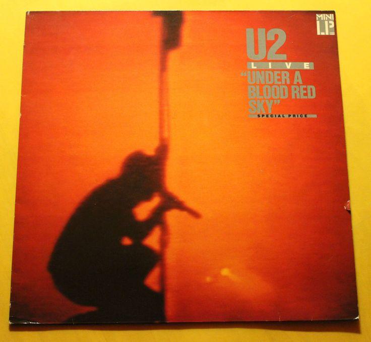 U2 – Under A Blood Red Sky - Island Records – 205 904