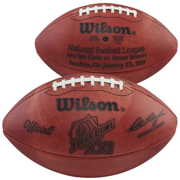 Super Bowl XXI Wilson Official Game Football - $129.99