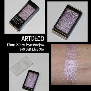 MichelaIsMyName: ARTDECO Glam Stars Eyeshadow 679 Soft Lilac Star R...