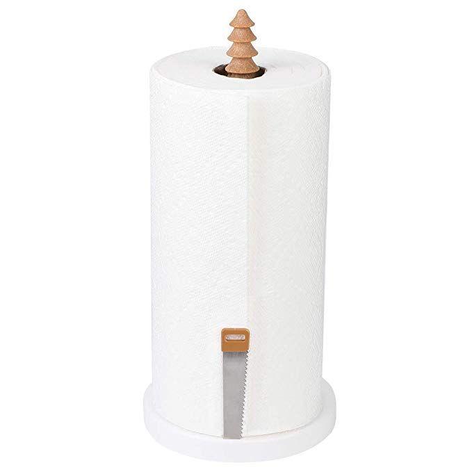 Anytin Paper Towel Holder Countertop Anti Fall Kitchen Papertowl