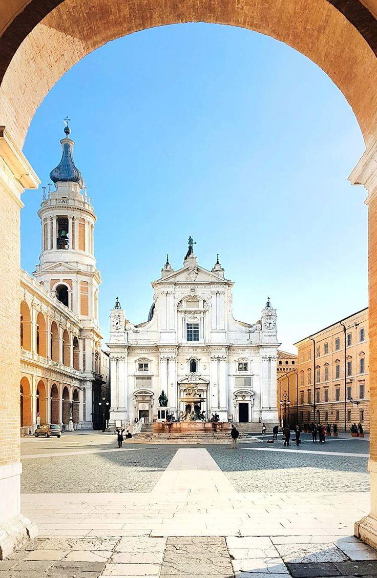 Loreto, a hilltown & comune of the Italian province of Ancona, in the Marche.