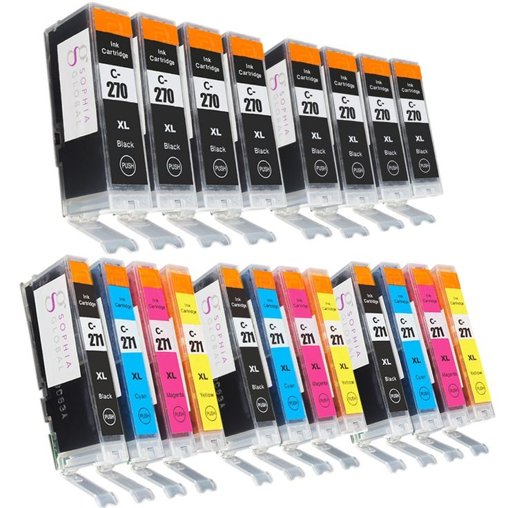 Sophia Global Compatible Ink Cartridge Replacement for PGI-270XL and CLI-271XL