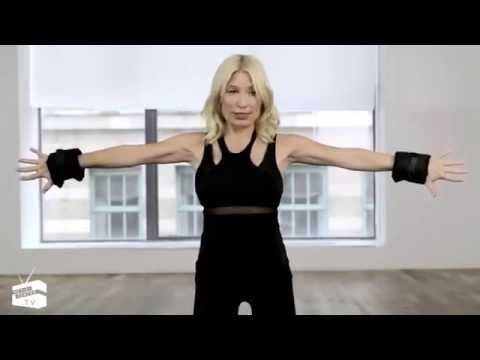 Tracy Anderson at Net a Porter - Toned arms - YouTube