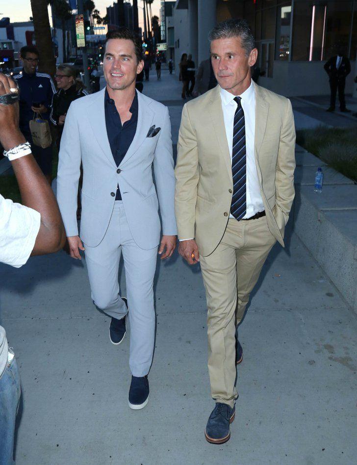 Pin for Later: Matt Bomer and Husband Simon Halls Make a Dashing Pair at a Benefit in LA