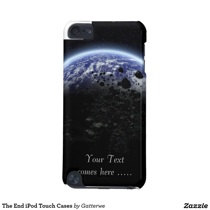 The End iPod Touch Cases